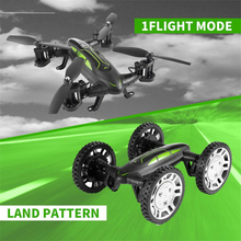 Air-Road Double Model SMRC FY602 Flying Car 2.4G RC Quadcopter Drone USB Run Double Side 6-Axis 4CH Helicopter With HD Camera(China)