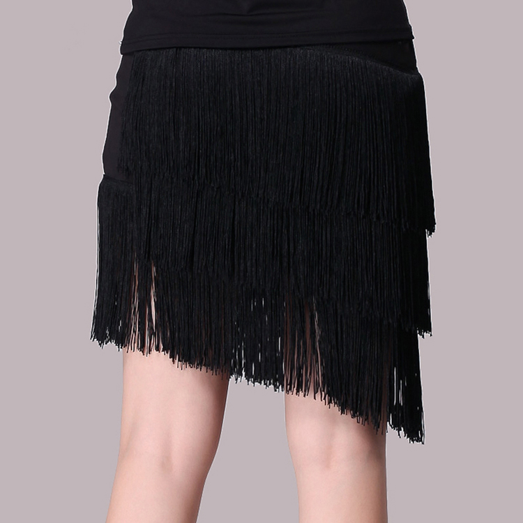 Girls Latin Dance Skirt (2)