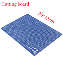 A4 / 30 * 22cm * 0.3cm sewing cutting mats reversible design engraving cutting board mat handmade hand tools 1pc Free Shipping(China)