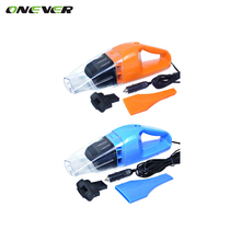 Onever Portable Car Vacuum Cleaner Power 120W Orange Blue Super Absorb Car Waste Wet and Dry Dual Use With 5 Meters of Cable