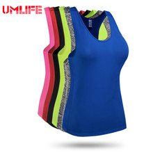 Buy Women Yoga Tank Top Gym Fitness Sleeveless Sports Shirt Elastic Quick-Dry Running Exercise Workout Vest Shirts Training Tops for $8.27 in AliExpress store