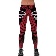 Men Woman Steelers Raiders Falcons Tights Pant 3D Printed Fitness Pants Leggings Tights Trousers MMA UFC BJJ Rashguard Pant(China)