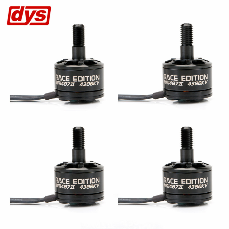 4X DYS SE1407 II 4300KV 3-4S FPV Racing Brushless Motor N52 Magnet For RC Multi Rotor Quadcopter FPV Racer Parts Accessories<br>