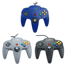 Wired USB Gamepad For Nintendo N64 Controller Joystick Games Wired Joypad For Gamecube Controle For N64 PC For Mac Black Gamepad