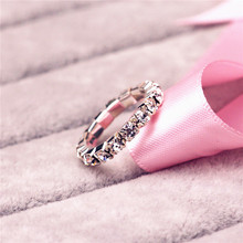 Hot Sale Crystal Toe Ring wedding Rings High Quality Elastic white crystal rings for women