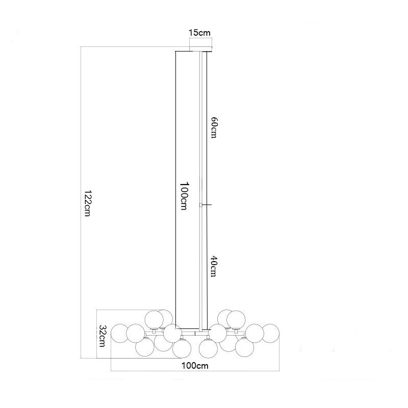 Length-1000mm-gold-black-magic-bean-led-pendant-lights-living-dining-room-shop-modern-led-striplight