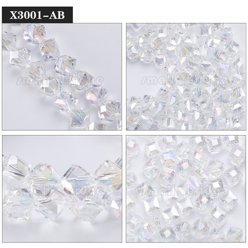 Square Glass Beads (2)