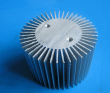 10pcs/lot LED radiator 3~7W aluminum radiator Sunflower aluminum heatsink diameter:50mm,solid 30mm,high 10mm heatsink