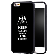 Luxury Star War use the force Case Cover for Samsung Galaxy s4 s5 s6 S7 edge S8 plus note 2 3 4 5