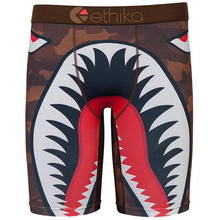 Buy Ethika New Style Men's Fashion Streetwear Boxer Underwear Mens Long Boxers Shorts Cotton Undershorts Sexy Boxers