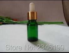 20ML Empty Glass Oil Bottle, With Gold Color Circle Plastic Head Dropper,Glass Essential Oil Vials, Purfume Bottle, 30pcs/lot