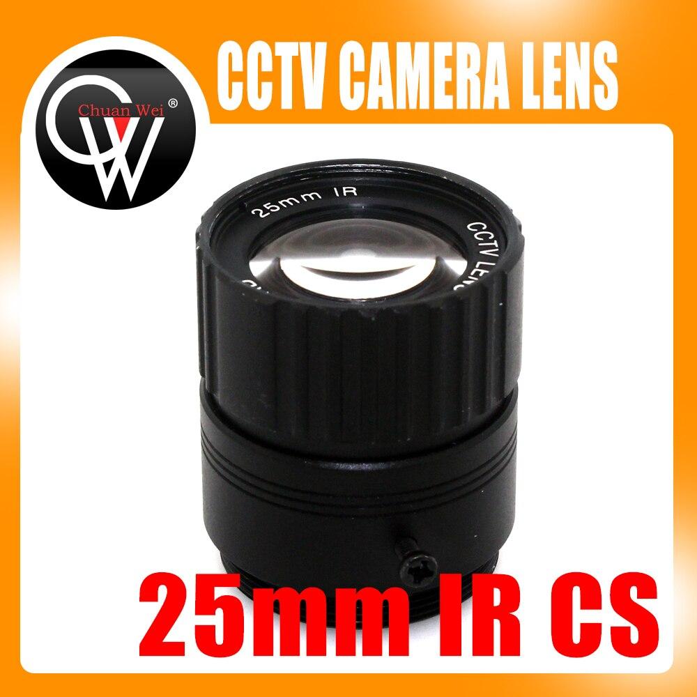 3MP 25mm CS lens HD CCTV Camera Lens 14 degree IR HD Security Camera Lens For HD IP AHD HDCVI SDI Cameras CS Mount<br><br>Aliexpress