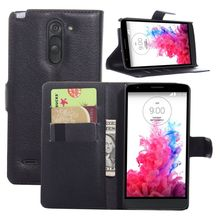 Flip Wallet PU Leather Case For LG K8(2017)/Aristo/LV3 V3 MS210 Vintage Solid Phone Bag Cases For LG With Card Hol(China)