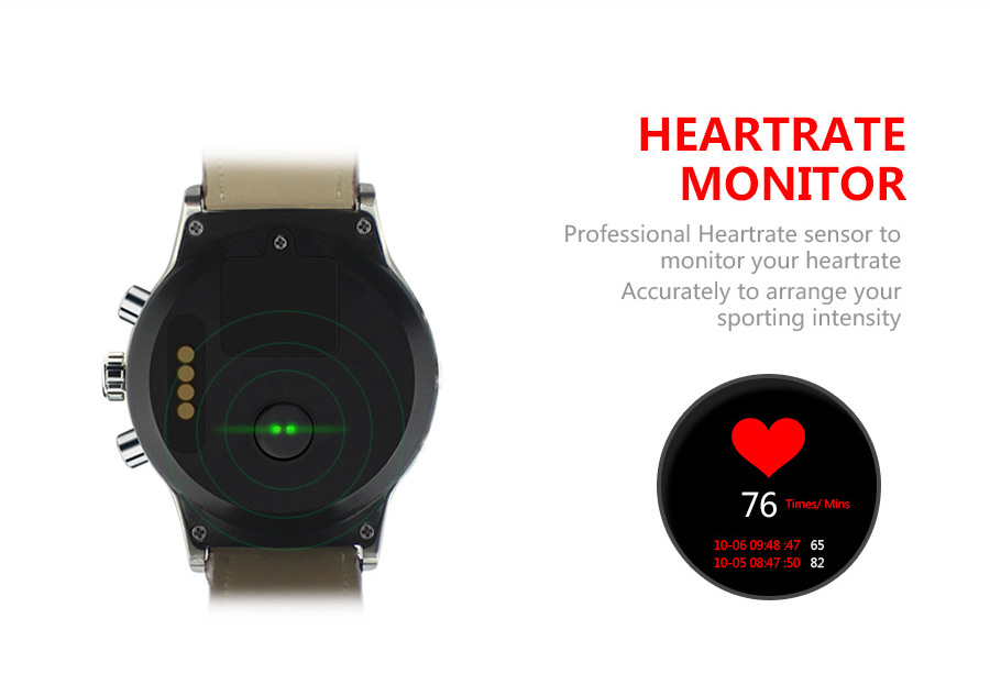 Smart Watch Y3 1.39 inch Android 5.1 Phone MTK6580 1.3GHz Quad Core 4GB ROM Pedometer Bluetooth Smartwatch WIFI 3G Smartwatch