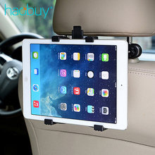 Haobuy Universal Mobile Phone Tablet PC Car Holder Stand Auto Seat Soport Headrest Bracket Support For Smart Pad iPad Mini Pro(China)