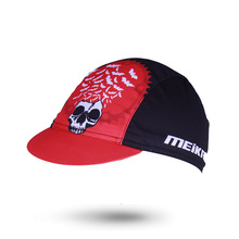 Men Women Summer Bat King Skull Pattern Cycling Cap Breathable MTB Bike/Bicycle Hat Outdoor Sport Elastic Anti-sweat Cycling Hat(China)