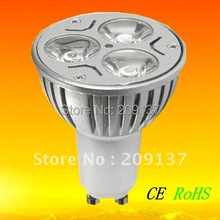 High power led lamp GU10 Dimmable led light 9W warm white led bulb Free Shipping(China)
