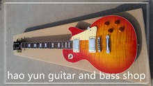 in stock 1959 R9 les Tiger Flame paul electric guitar Standard LP 59 electric guitar in stock EMS free shipping(China)