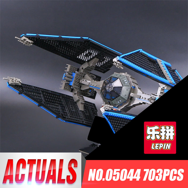 703pcs Lepin 05044 Star Series Wars Limited Gifts Edition The Interceptor Building Blocks Bricks Model Toys 7181 Funny Toys<br>