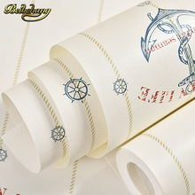 beibehang papel de parede 3D Cartoon sailing Wallpaper for Living room backdrop Wall paper roll covering wallpaper for walls 3 d