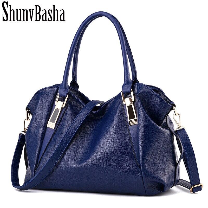 Women shoulder bag fashion leisure Hobos  lady high quality leather messenger bag pure color elegant handbag Crossbody Bags<br><br>Aliexpress