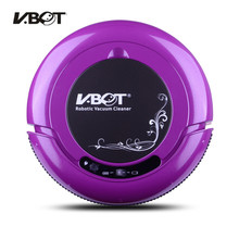 V-BOT T270 Intelligent Sweeping Robots Home Mute Automatic Vacuum Cleaner One Machine Purple(China)