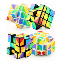 Buy YongJun Speed Professional Magic Cube Block Puzzle Cube Game Magicos Twist Puzzle Fidget Cube Educational Toys Children Gift for $3.92 in AliExpress store