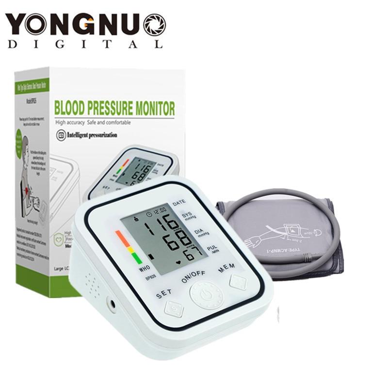 Digital Upper Arm Blood Pressure Pulse Monitor Household tonometer Portable Health Care Meter Sphygmomanometer medical equipment 7