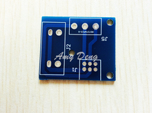 4pcs/lot 09 type potentiometer tuning board PCB empty board (with input RCA and output press line seat)(China)
