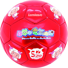 Children's football & 100% PU Material Soccer / The Soccer Diameter 14 cm And Size 2 NO.ball(China)