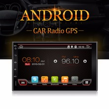 Quad Core Android 2din Car No-DVD Player GPS Navi PC For Toyota Tiida Qashqai Sunny X-Trail Paladin Frontier Patrol Versa Livina(China)