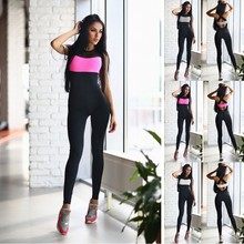 YSMARKET Hot Sale Fitness Jumpsuit Gym Woman Clothing Suit Women Running Tight Jumpsuits Sports Yoga Wear New Promotion Y2001