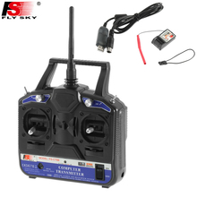 Wholesale 1set Fly sky FS-CT6B 2.4GHz 6CH Transmitter + fs-R6B Receiver System for RC Helicopter Model Dropship(China)