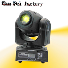 Led Beam Moving Head Light 10W Mini Wash Spot Beam Stage Lights Party Wedding DJ Equipment(China)