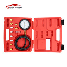KKmoon A0015 Wave Box Pressure Meter Oil Pressure Tester Gauge Test Kit Garage Tool TU-11A Auto Pressure Tester(China)