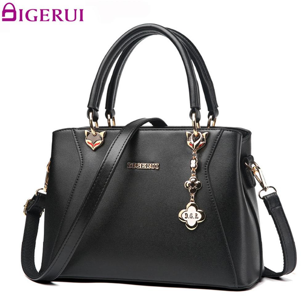 DIGERUI Women Bag Luxury Handbags Women Bags Designer Female Shoulder Bag Women 2017 Shoulder Bags A2875<br>