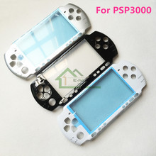 High Quality Front Housing Shell replacement for Sony PSP3000 PSP 3000 Cover Case Game Console Repair Part 5 Colors(China)
