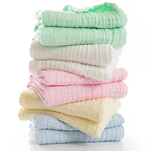 Hot sale elegant quality Antibacterial Pure color Super breathable and soft 4 layers gauze fabric 100% cotton baby blanket(China)