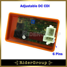 DC CDI ECU Adjustable REV Box 6 Pin For Joyner Sand Viper Hammerhead GT GTS SS 250 250cc Go Kart(China)