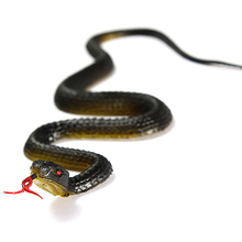 Novelty Practical Jokes Black Snake Toy Halloween Prank Prop Gift Decor Trick Reptile Model Replica kid
