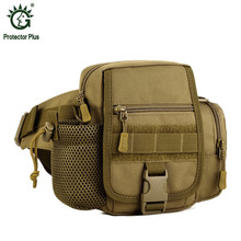 Men's Military Waist Packs Waterproof Male Hip Belt Bum Fanny Pack Man Bicycle Equipment Waist Bag Nylon Messenger Shoulder Bag(China)
