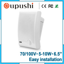 Wholesale Review Cheap Mini Wall Mounted Speaker With Amplifier(China)