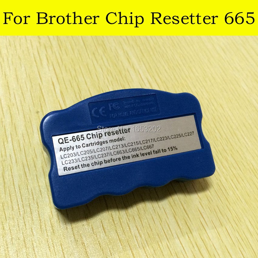 2 PC/Lot Chip Resetter For Brother LC203/LC205/LC207/LC209 Use For MFC-J4320DW/J4420DW/J4620DW/J5520DW/J5620DW/J5720DW Printer<br><br>Aliexpress