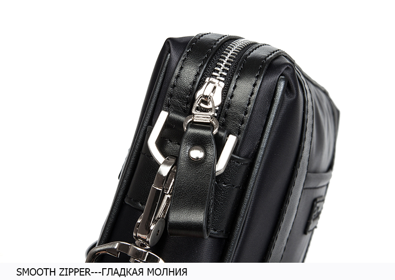 DANJUE Men Messenger High Quality Waterproof Oxford Crossbody Bag Male Casual Clutches Bag Men Mini Daily Shoulder Bag