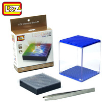 LOZ Diamond Building Blocks LED Display Base Transparent Display Box Multicolor Compatible With Wisehawk QCF LOZ No Box