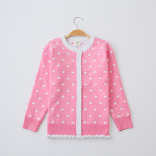 Spring and Summer 2017 Explosive New Models Girl's Sweaters Korean Fashion Casual Shirt Girls Cardigan