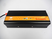 free shipping,500w inverter DC 12V to AC 220V UPS with charging function