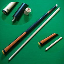 High Quality Billiard Cue Stick  13MM Nine-ball Ball Arm  Free Shipping 1/2 Split Cue Mapple Wood Center Joint Pool Cue