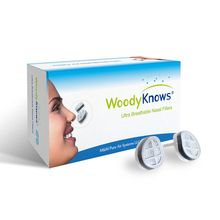 WoodyKnows Ultra Breathable Nasal Filters (2nd Gen) Nose Masks, Anti Pollen Allergies Dust Pet Dander Allergy Hayfever Relief(China)