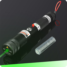 800mW 532nm Portable GREEN focusable laser With aluminum case and safety Keys(China)